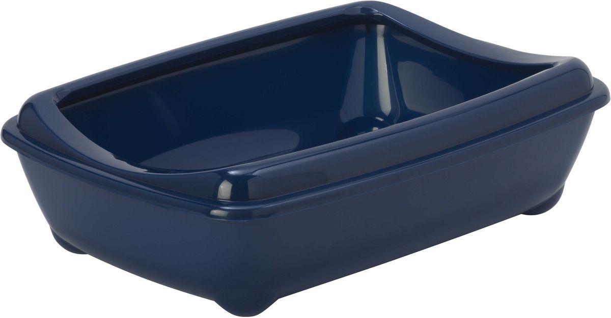 Открытый туалет для кошек Moderna Arist-O-Tray, цвет: черника, 38 х 50 х 14 см14C132331