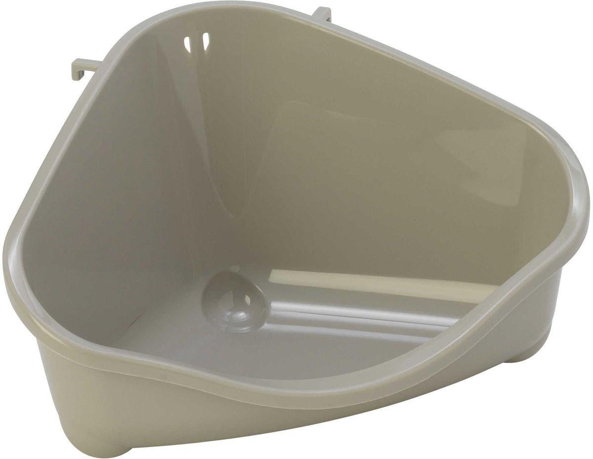 Место для грызуна Moderna, цвет: светло-серый, 18,3 х 12,7 х 9,6 см14R100330