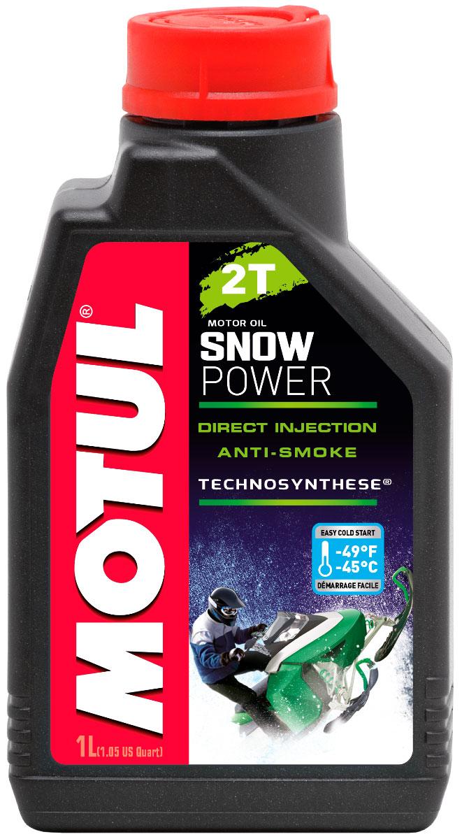 Масло моторное Motul Snowpower 2T. Technosynthese, синтетическое, 1 л106599Специальная формула масла снижает дымность выхлопа. Предназначено специально для 2-х тактных двигателей снегоходов, которые используются в полярных условиях. Все типы 2-х тактных двигателей с раздельной и смешанной смазкой. Все типы применения, в том числе и соревнования.
