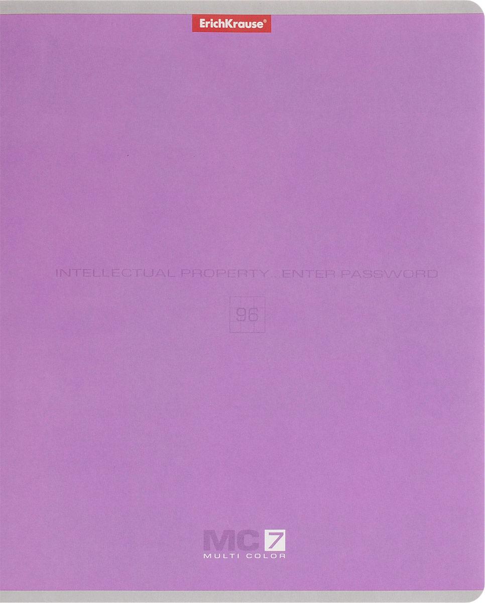 Полиграфика Тетрадь МС 7 96 листов в клетку цвет сиреневый35487_сиреневыйТетрадь Полиграфика МС 7 подойдет как школьнику, так и студенту. Обложка тетради выполнена из картона. Внутренний блок состоит из 96 листов белой бумаги. Стандартная линовка в голубую клетку дополнена красными полями. Листы тетради соединены металлическими скобами.
