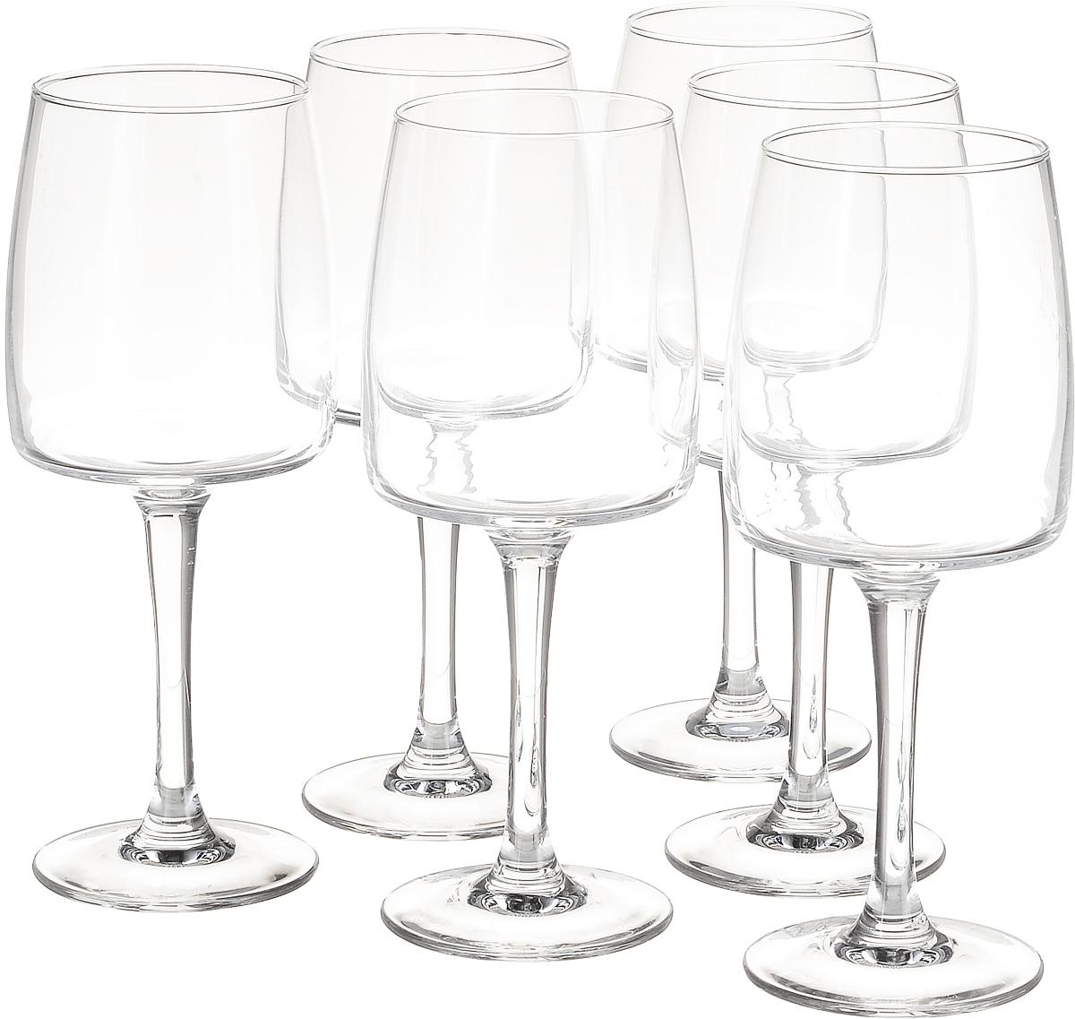 Набор бокалов для вина Luminarc Equip Home, 350 мл, 6 штJ1106Набор Luminarc Equip Home, выполненный из высококачественного стекла, состоит из 4 бокалов. Бокалы предназначены для подачи вина. Допускается мытье в посудомоечной машине. Стекло выдерживает резкий перепад температур до 135°С. Диаметр бокала (по верхнему краю): 6,3 см. Высота бокала: 20 см.