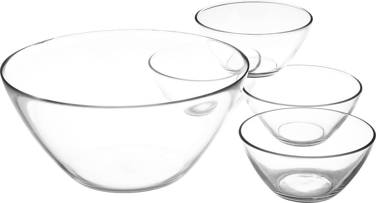 Набор салатников Luminarc Космос, 5 штJ3193Бренд Luminarc – это один из лидеров мирового рынка по производству посуды и товаров для дома. В основе процесса изготовления лежит высококачественное сырье, а также строгий контроль качества. Товары для дома Luminarc уважают и ценят во всем мире, а многие эксперты считают данного производителя эталоном совершенства.