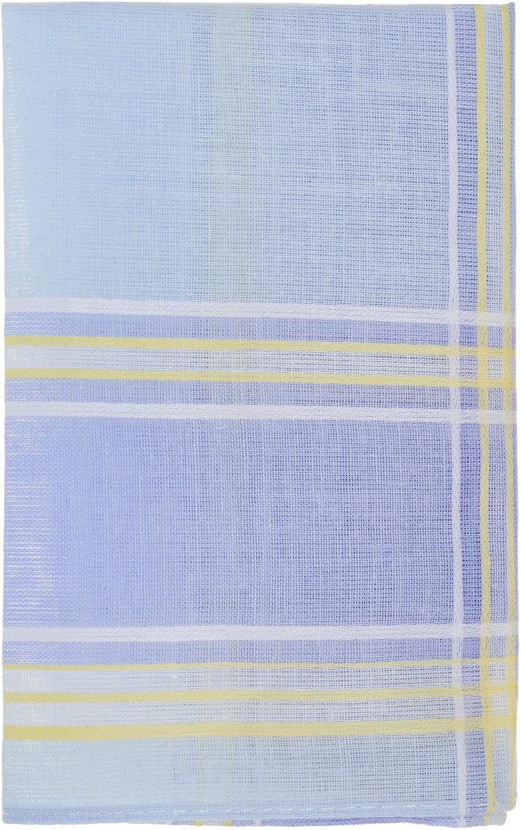 Платок носовой женский Zlata Korunka, цвет: голубой, сиреневый, желтый. 71417. Размер 27 х 27 см, 4 шт71417_голубой, сиреневый, желтый/клеткаНосовой платок Zlata Korunka изготовлен из высококачественного натурального хлопка, благодаря чему приятен в использовании, хорошо стирается, не садится и отлично впитывает влагу. Практичный и изящный носовой платок будет незаменим в повседневной жизни любого современного человека. Такой платок послужит стильным аксессуаром и подчеркнет ваше превосходное чувство вкуса. В комплекте 4 платка.
