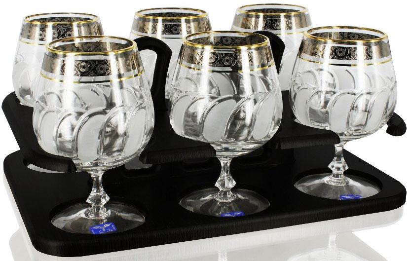 Набор бокалов для бренди Гусь Хрустальный Флорис, 400 мл, 6 шт. TD32-27833-БСTD32-27833-БСБар с набором из 6 хрустальных бокалов для бренди с узором Флорис. Высота 14 см. Артикул TD32-27833-БС.