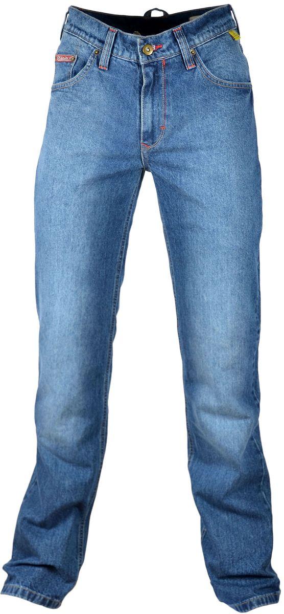 Мотоджинсы Starks Turtle, цвет: синий. Размер 33LC1702_синий_33Мотоджинсы STARKS – безупречное сочетание качества, комфорта и безопасности. Особенностью кроя мотоджинсов STARKS является полностью гражданский вид: отсутствие дополнительных швов, строчек и других элементов, которые обычно присутствуют на джинсах для мотоциклистов. Такой внешний, ничем не выдающий высококачественную защитную мотоэкипировку, позволит вам не беспокоиться о сменной одежде при поездках на работу или в путешествиях. Джинсы для мотоциклов STARKS выполнены из плотной джинсовой ткани и прошиты армированной нитью. Уникальная комбинированная подкладка: Арамидная ткань и ткань COOLMAX Арамид (полный аналог кевлара) используется в части подкладки джинсов STARKS и защищает от трения, порезов и ожогов при падении и скольжении основные зоны нижней части тела : ягодицы, бедренные кости, наружные части ног справа и слева, коленные суставы. COOLMAX используется как часть комбинированной подкладки мотоджинсов в неуязвимых местах. Также из этого материала...