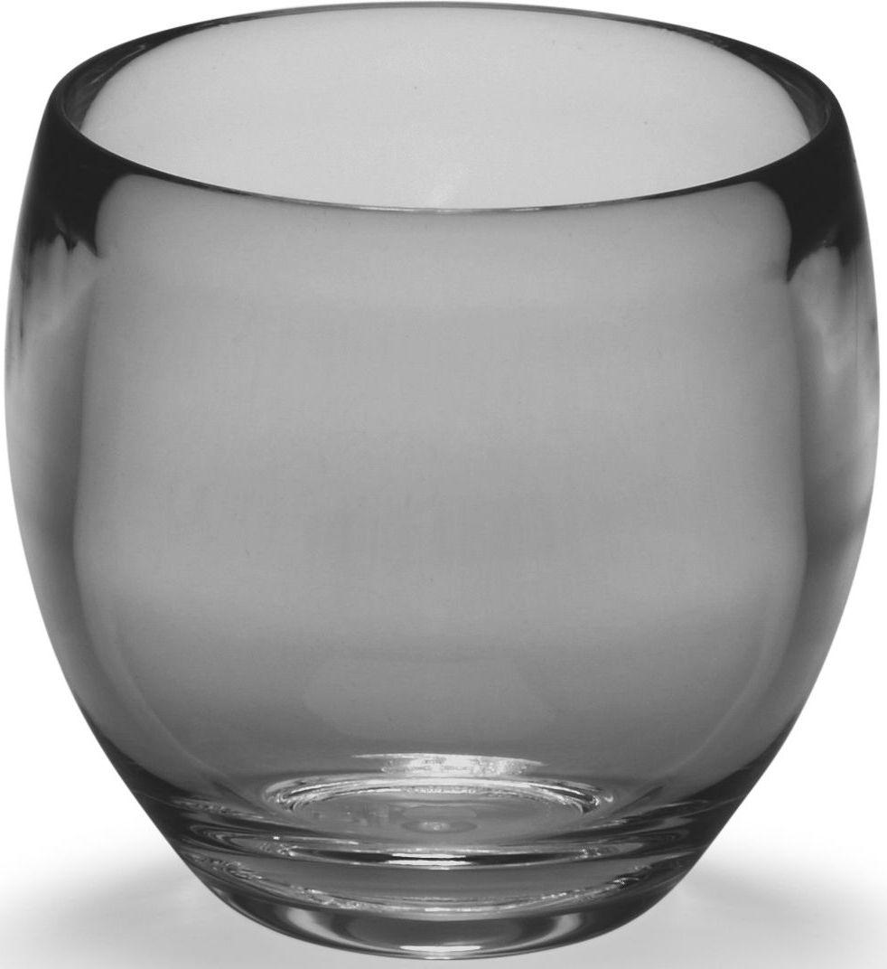 Стакан для ванной Umbra Droplet, цвет: дымчатый, 9,3 х 9,6 х 9,6 см020161-582Серию аксессуаров Droplet характеризуют плавные линии, прозрачные материалы и мягкие цвета. Благодаря современным технологиям, аксессуары выглядят как стеклянные, но при этом прочные и небъющиеся. Такой красивый и лаконичный стакан из прозрачного акрила станет достойным украшением раковины в любой ванной комнате. Дизайн: Michelle Ivankovic