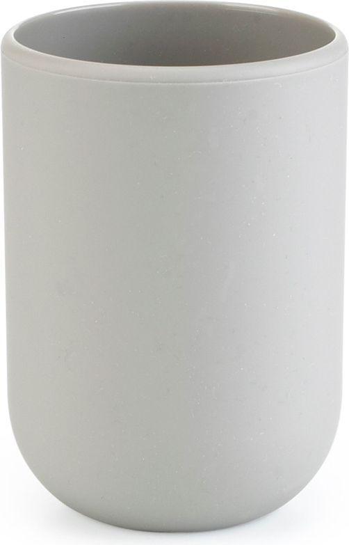 Стакан для ванной Umbra Touch, цвет: серый, 10 х 7 х 7 см023270-918Стакан для ванной - это тот маленький, почти незаметный, но очень важный предмет, который мы используем ежедневно для полоскания рта или даже просто как подставку для щеток. Он нужен всем и всегда, это бесспорно. Но как насчет дизайна? В Umbra уверены: такой простой и ежедневно используемый предмет должен выглядеть лаконично и необычно. Ведь в небольшой ванной комнате не должно быть ничего вызывающе яркого. Немного экспериментировав с формой, дизайнеры создали стакан Touch, который придется кстати в любом доме! Выполнен из приятного на ощупь пластика, удобно держать в руках.