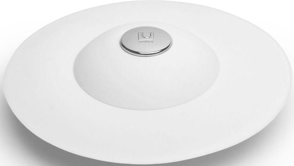 Фильтр для слива Umbra Flex, цвет: белый, 3,2 х 8,9 х 8,9 см023464-660Если вы думали, что ещё удобнее сделать фильтр для слива невозможно, вы ошибались! Нажмите на металлическую кнопку в центре, чтобы вода сливалась через фильтр, задерживая в нём мусор. Нажмите на резиновые крылышки вокруг кнопки, и фильтр закроет слив, чтобы вы смогли наполнить ванну. Сочетается с другими аксессуарами из коллекции FLEX Дизайнер Anthony Keeler