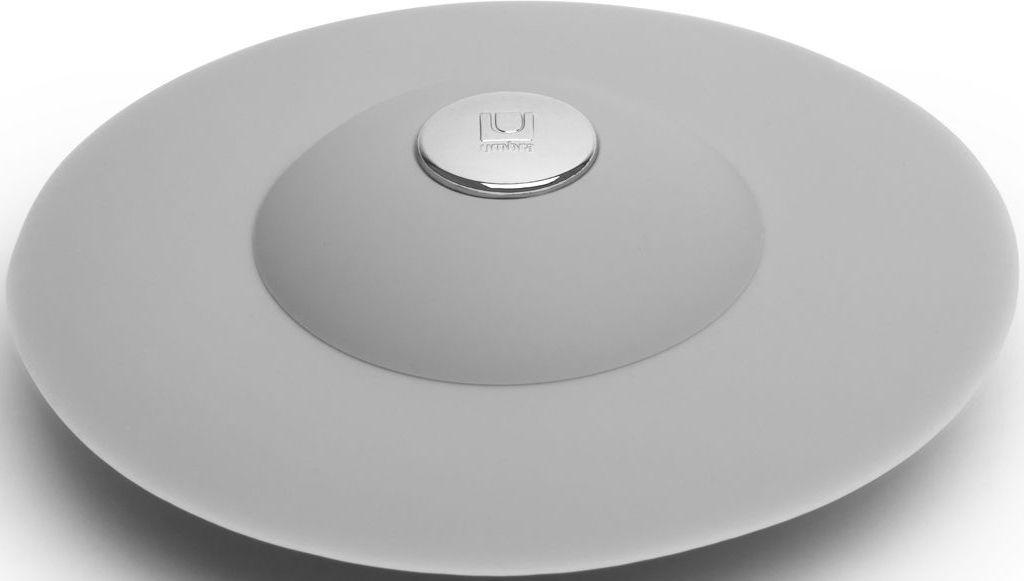 Фильтр для слива Umbra Flex, цвет: серый, 3,2 х 8,9 х 8,9 см023464-918Если вы думали, что ещё удобнее сделать фильтр для слива невозможно, вы ошибались! Нажмите на металлическую кнопку в центре, чтобы вода сливалась через фильтр, задерживая в нём мусор. Нажмите на резиновые крылышки вокруг кнопки, и фильтр закроет слив, чтобы вы смогли наполнить ванну. Сочетается с другими аксессуарами из коллекции FLEX Дизайнер Anthony Keeler