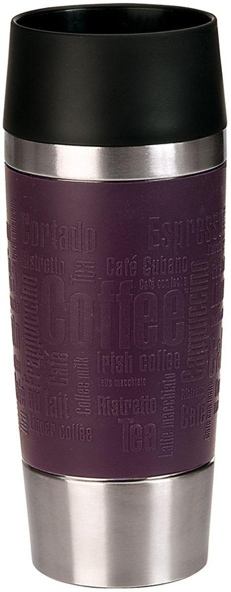 Термокружка Emsa Travel Mug, цвет: фиолетовый, 360 мл513359