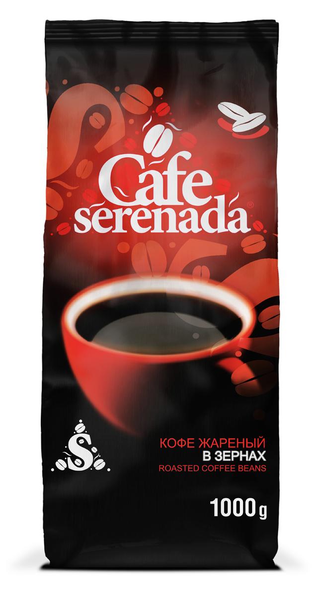 Lebo Серенада кофе в зернах, 1 кг4602076001293Классический богатый вкус с легкой горчинкой.