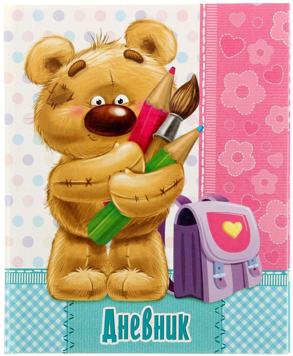 Calligrata Дневник школьный Мишка для 1-4 классов1316841