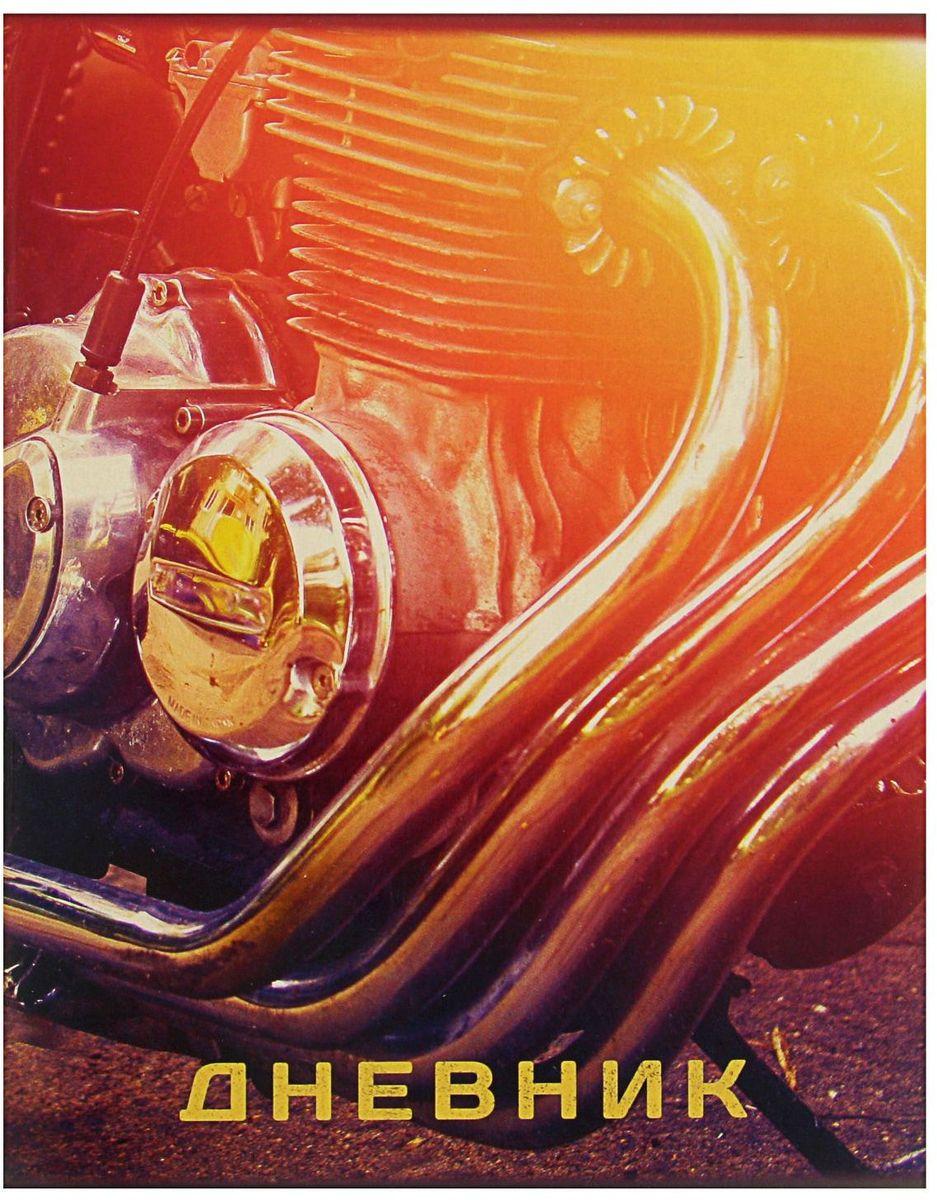 Calligrata Дневник школьный Мотоцикл