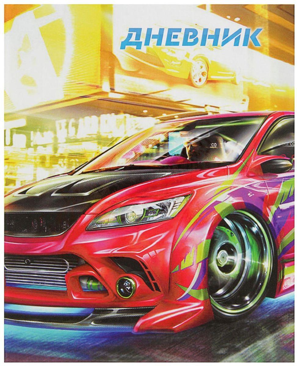 Calligrata Дневник школьный Спортивное авто для 1-4 классов2017295