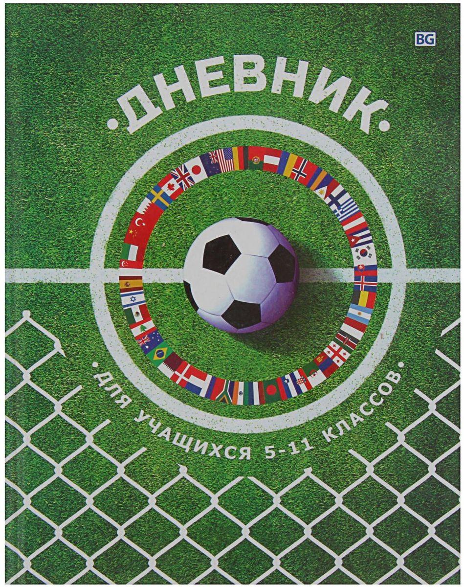 BG Дневник школьный Футбольная лихорадка для 5-11 классов2080379