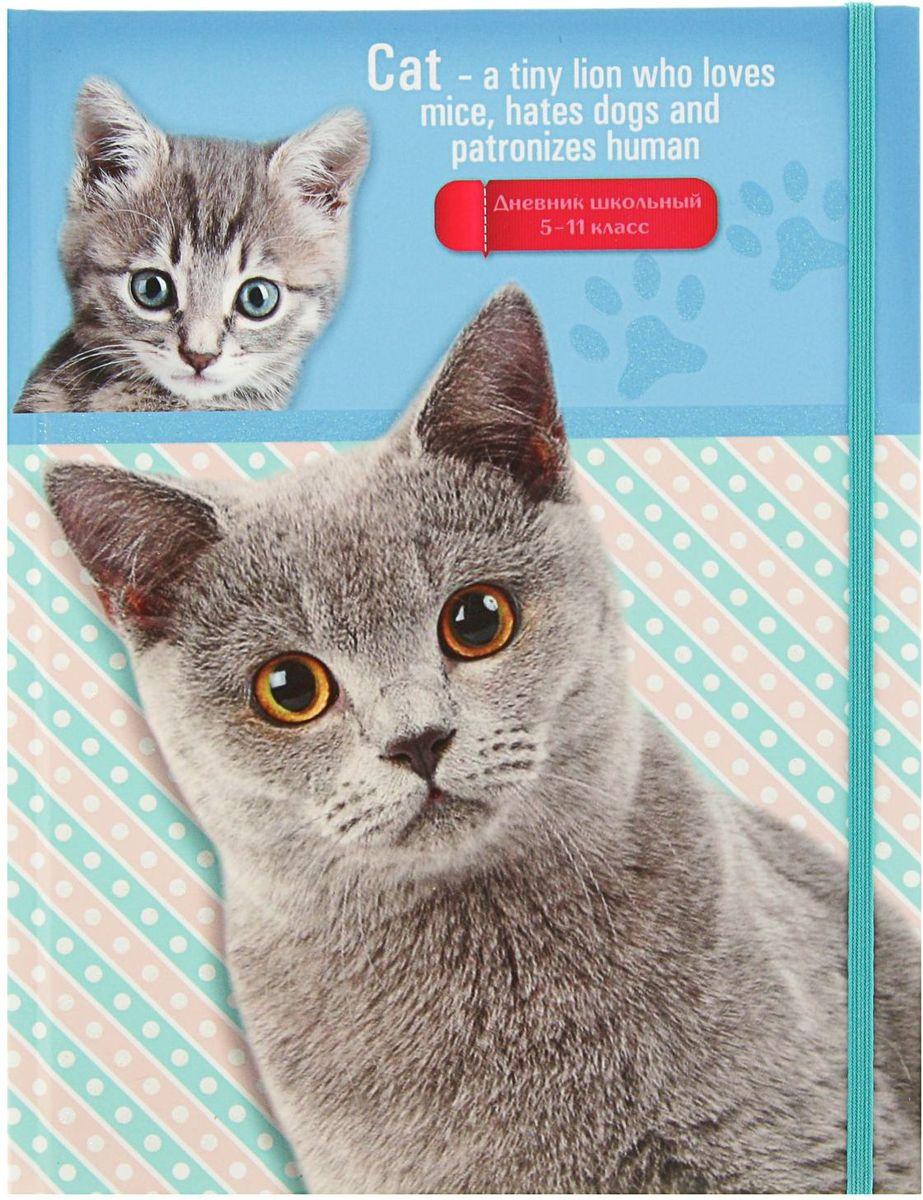 Проф-Пресс Дневник школьный Кот и котенок для 5-11 классов2093467