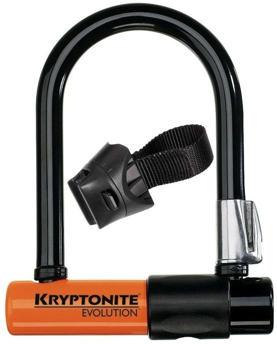 Замок велосипедный Kryptonite U-locks Evolution Mini-5, оранжевый0720018000983Kryptonite Evolution Mini-5 — u-lock замок с самыми компактными размерами. Он отлично уместится в заднем кармане или за ремнём. Дополнительно в комплекте крепление на раму и три ключа (включая один с подсветкой). Степень защиты у Kryptonite Evolution Mini-5 составляет 7 из 10 по шкале производителя. Этот велозамок имеет виниловое покрытие, что обеспечивает защиту рамы байка от царапин. - 13 мм закаленная стальная скоба - 3 ключа, включая 1 с подсветкой - Программа Key Safe (возможность заказа нового ключа) - Silver Sold Secure (классификация надежности замков в Европе) - Уровень защиты 7 из 10 - Защита от пыли и влаги - Защита от стука и шума - Silver Sold Secure Диаметр дуги замка: 13 мм Размеры замка: 8,3 х 14 см Вес модели: 0,98 кг.