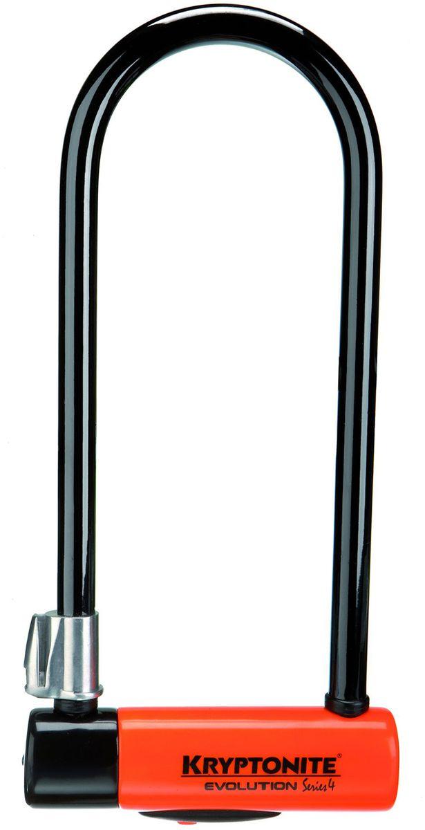 Замок велосипедный Kryptonite U-locks Evolution Series 4 LS, оранжевый0720018001027U-Lock Kryptonite Evolution 4 LS — удлиненная версия замка Evolution 4 Standard. Модель обеспечит сохранность вашего велосипеда в как в относительно безопасных, так и в угоняемых районах. Стальная скоба, двойной запорный механизм, усиленный цилиндрический корпус — выдерживают болторез и другие длиннорычажные кусачки. Универсальная система крепления «Transit FlexFrame-U» позволяет легко перевозить замок на любой раме. Благодаря виниловому покрытию, влагозащите и раздвижному пыльнику замок можно использовать в любую погоду. - 14 мм закаленная стальная скоба - Виниловое покрытие, не оставляющее царапин на раме велосипеда - 3 ключа в поставке с замком (включая 1 с подсветкой) - Система «Transit FlexFrame-U» (крепеж к раме байка) - Защита от пыли и влаги - Защита от стука и шума - Программа Key Safe (возможность заказа нового ключа) - Gold Sold Secure (классификация надежности замков в Европе) - Уровень защиты 8 из 10 Диаметр дуги замка: 14 мм ...