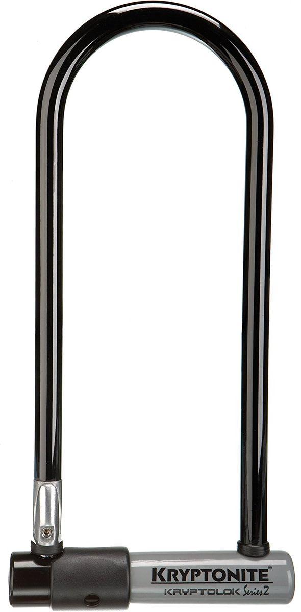 Замок велосипедный Kryptonite U-locks KryptoLok Series 2 Std, черный0720018001041Велосипедный замок Kryptonite Kryptolok series 2 Standard — полноразмерная модель u-lock с виниловым покрытием, которое защитит раму байка при транспортировке. Скоба замка изготавливается из закалённой стали фирменной марки Kryptonium, диаметр данной скобы 13 мм. По классификации компании замок Kryptolok series 2 Std имеет 6 из 10 степень защиты и является одним из хороших базовых решений среди u-lock вариантов. В комплекте идут 2 ключа и крепление на раму велосипеда. Оно позволяет транспортировать, быстро снимать и устанавливать этот u-образный замок. - 13 мм закаленная стальная скоба - Дисковый замок обеспечивает высокий уровень безопасности - Система Transit Flex Frame-U для крепления к раме байка - Виниловое покрытие, не оставляющее царапин на раме - Защита от стука и шума - Защита от пыли и влаги - В комплекте идет 2 ключа - Программа Key Safe (возможность заказа нового ключа) - Уровень защиты 6 из 10 Диаметр дуги замка: 13 мм ...