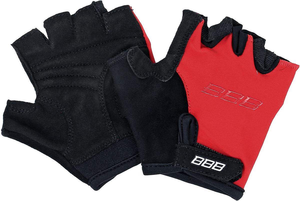 Перчатки детские велосипедные BBB Kids, цвет: красный, черный. BBW-45. Размер SBBW-45Перчатки BBB Kids разработаны специально для маленьких детских ладошек. Дышащий верхний слой выполнен из эластичного материала. Ладонь изготовлена из материала Amara с дополнительной подкладкой из вспененного материала. Застежки велкро (Система WristLock) надежно фиксируют перчатки на руке. Петли между пальцами обеспечивают легкое снимание перчаток. Манжета анатомического кроя дополнена застёжкой-липучкой. Состав: 66% полиамид, 20% полиуретан, 5% полиэстер, 9% эластан.