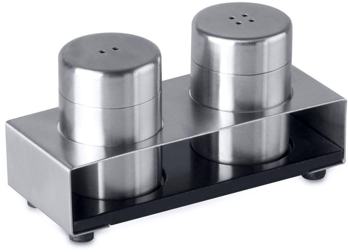 Набор для соли и перца BergHOFF Cubo, на подставке, 5,5 см, 3 предмета1109329
