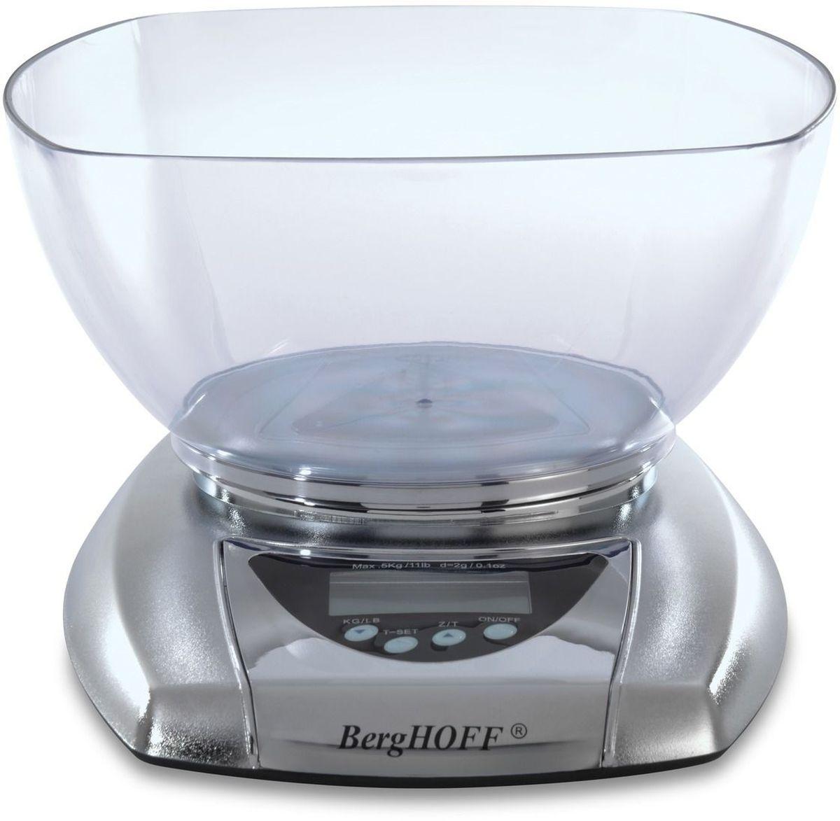 Весы кухонные BergHOFF Studio, электронные, с чашей2003251