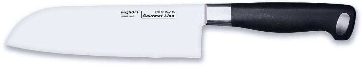 Нож сантоку BergHOFF Gourmet, длина лезвия 18 см1399485