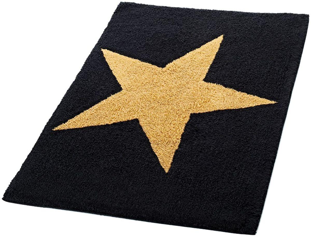 Коврик для ванной комнаты Ridder Star, цвет: черный, 60 х 90 см712304