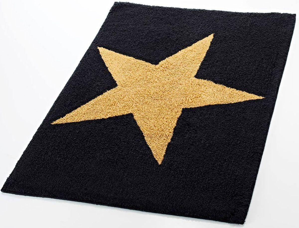 Коврик для ванной комнаты Ridder Star, цвет: черный, 50 х 55 см712804
