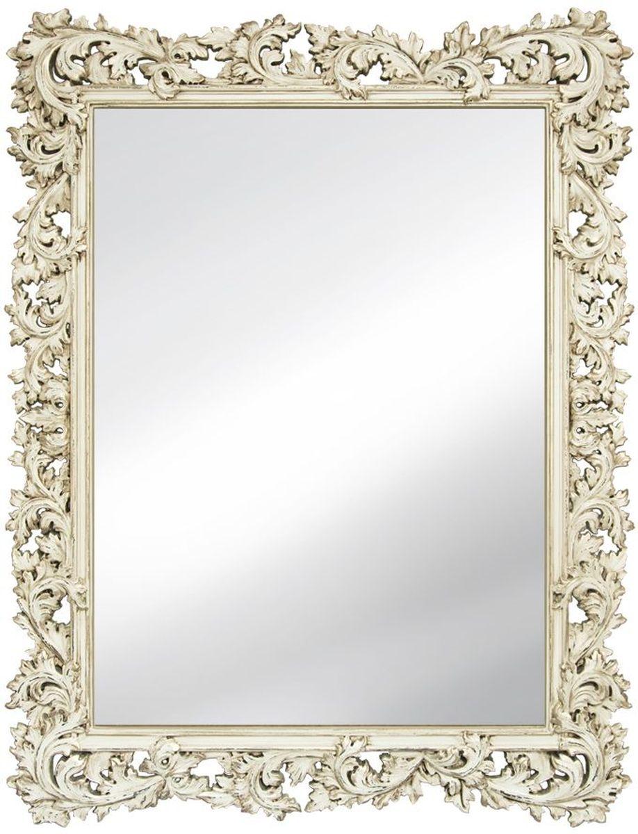 Зеркало VezzoLLi Алиана, цвет: слоновая кость, 88 х 115 см15-30Рама зеркала выполнена в стиле шебби шик ( винтажный, с потертостями). Ручная работа. С обратной стороны зеркало снабжено тремя металлическими подвесами для возможности разместить его и вертикально и горизонтально. Ширина обрамления 15 см.