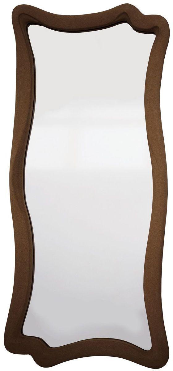 Зеркало VezzoLLi Марэ, цвет: коричневый, 53 х 120 см2-13Рама изделия окрашена в цвет, который визуально и на ощупь напоминает замшу. Подвесы в комплекте.