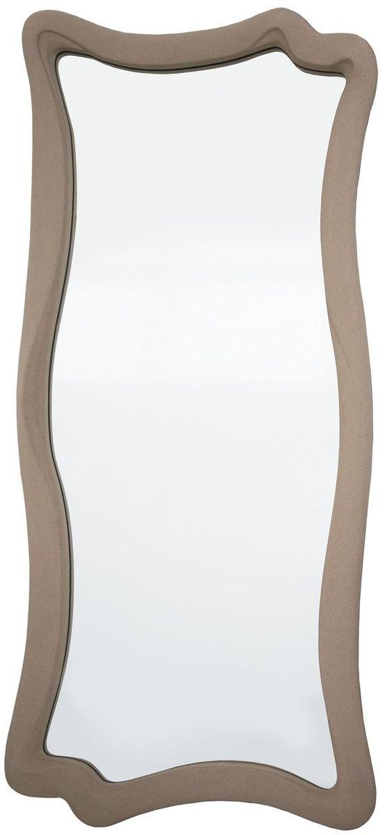Зеркало VezzoLLi Марэ, цвет: светло-коричневый, 53 х 120 см2-18Рама изделия окрашена в цвет, который визуально и на ощупь напоминает замшу. Подвесы в комплекте.
