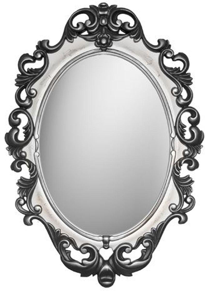 Зеркало VezzoLLi Винтаж, цвет: черный, 67 х 96 см6-31С обратной стороны зеркало снабжено двумя металлическими подвесами. Видимый размер зеркального полотна 60х43,5 см.