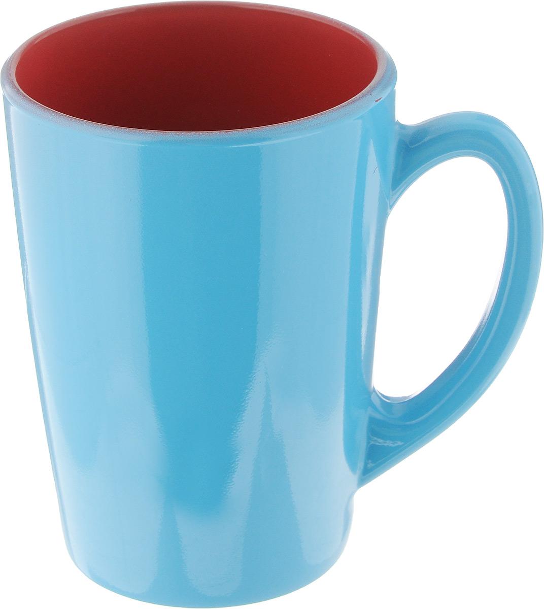 Кружка Luminarc Spring Break, цвет: голубой, красный, 320 мл. J3417-1J3417-1_голубой, красныйКружка Luminarc Spring Break, изготовленная из ударопрочного стекла, прекрасно подойдет для горячих и холодных напитков. Она дополнит коллекцию вашей кухонной посуды и будет служить долгие годы. Можно использовать в микроволновой печи и мыть в посудомоечной машине. Диаметр кружки (по верхнему краю): 8 см. Высота стенки кружки: 11 см.