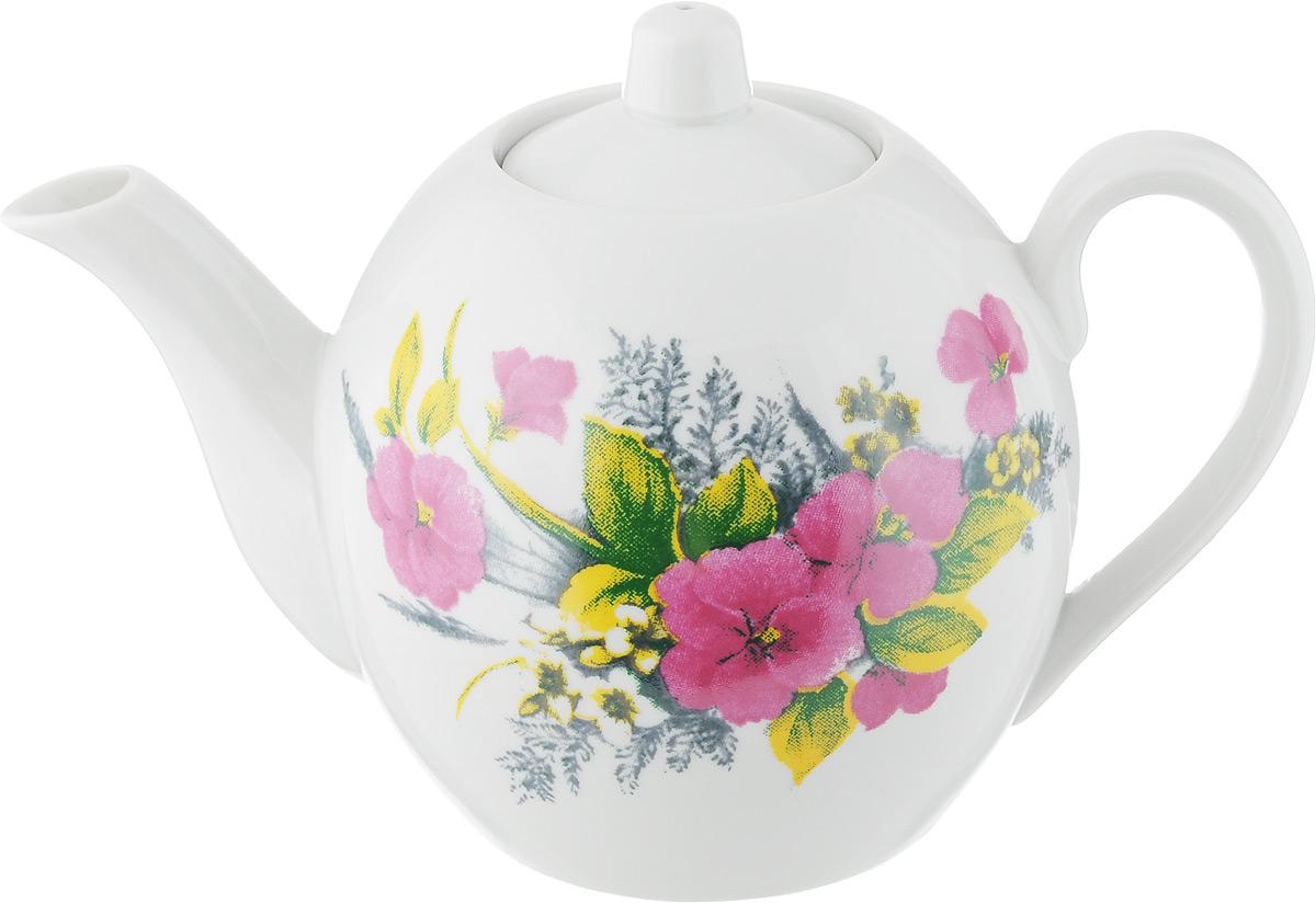 Чайник заварочный Фарфор Вербилок Виола. Вид 2, 800 мл1650750_вид 2Заварочный чайник Фарфор Вербилок Виола. Вид 2 изготовлен из высококачественного фарфора. Изделие прекрасно подходит для заваривания вкусного и ароматного чая, а также травяных настоев. Отверстия в основании носика препятствуют попаданию чаинок в чашку. Оригинальный дизайн сделает чайник настоящим украшением стола. Он удобен в использовании и понравится каждому. Диаметр чайника (по верхнему краю): 6 см. Высота чайника (без учета крышки): 12 см.