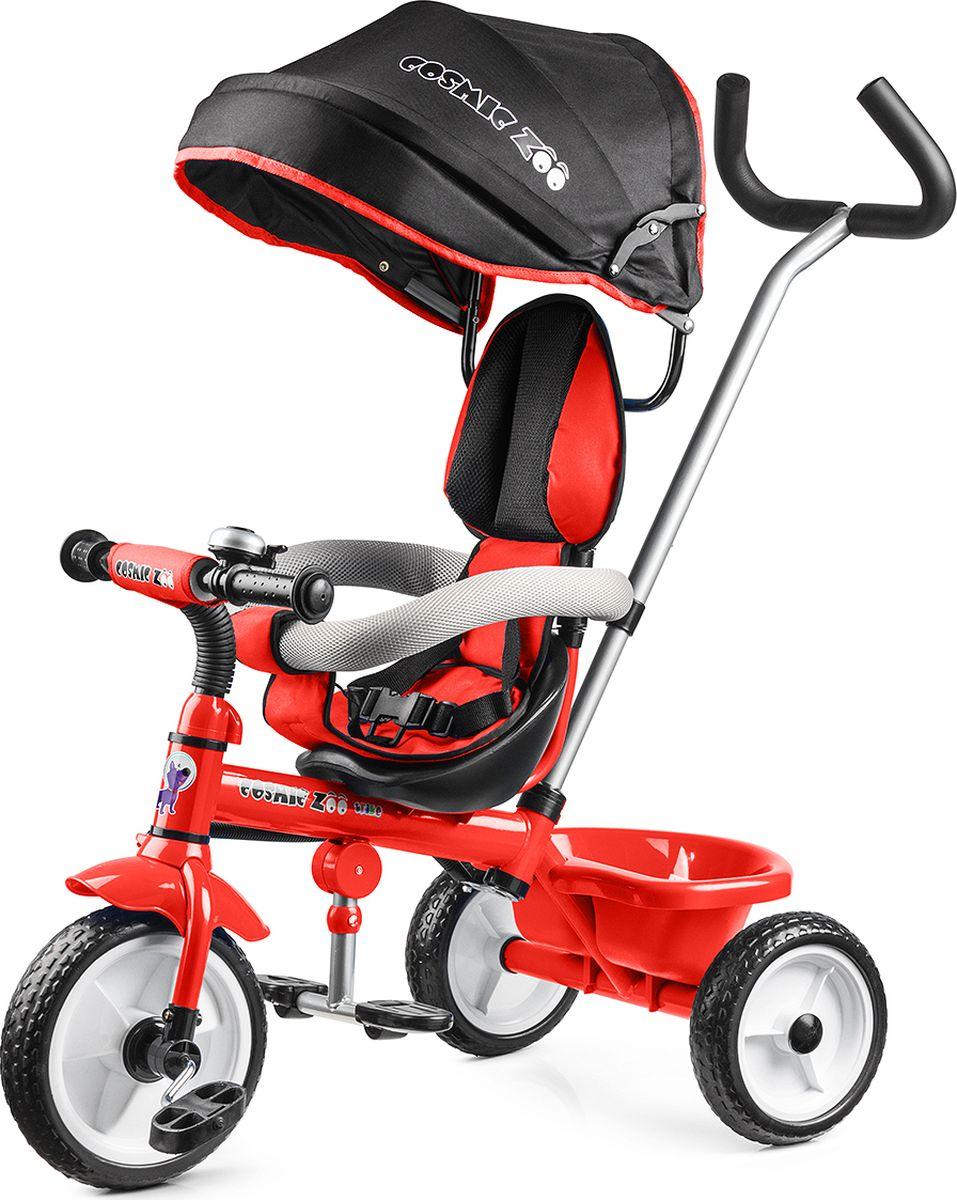 Small Rider Велосипед трехколесный Cosmic Zoo Trike цвет красный