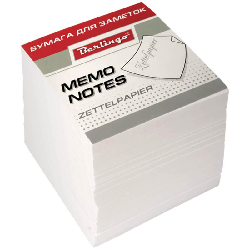 Berlingo Бумага для заметок Standard цвет белый 9 х 9 х 9 смZP7600Блок для оперативных записей в удобном пластиковом боксе. 1000 листов, белый. Размер листа в блоке - 90 х 90 мм. Бумага плотностью 80 г/м2. Подходит для бокса Berlingo ZP7608.