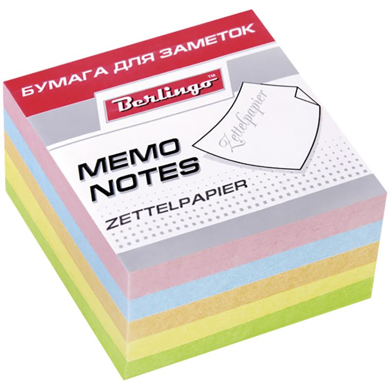 Berlingo Бумага для заметок Standard цветная 9 х 9 х 4,5 смLNn_01159Размер листа в блоке - 90 х 90 мм, высота блока 45 мм. Индивидуальная упаковка в термоусадочную пленку.