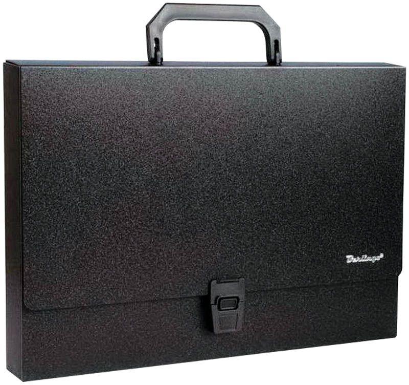 Berlingo Папка-портфель Standard цвет черныйMP2311На замке. Укрепленная ручка. Материал - жесткий пластик. Стильный дизайн и популярные офисные цвета. Индивидуальная упаковка в пакет.
