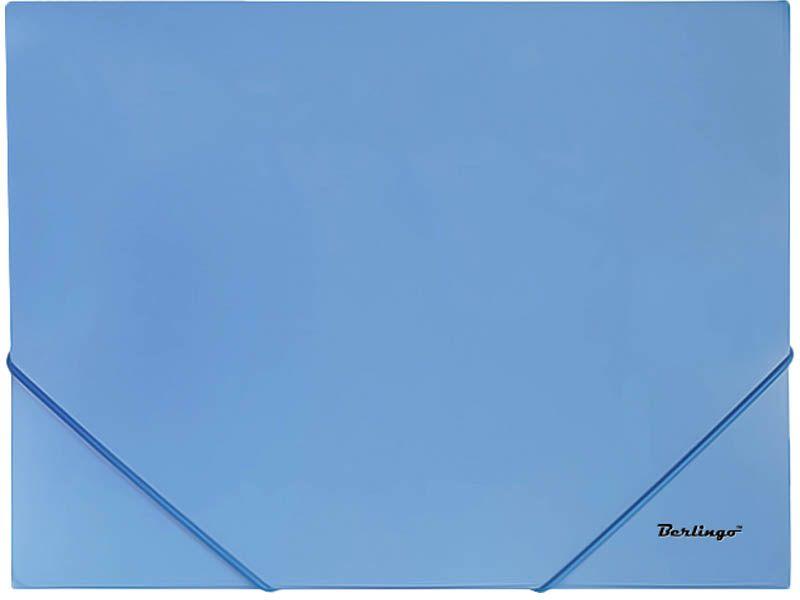 Berlingo Папка-конверт на резинке Standard цвет синийMB2325Папка-конверт Berlingo Standard - это удобный и многофункциональный инструмент, который идеально подойдет для хранения и транспортировки различных бумаг и документов формата А4. Папка изготовлена из прочного пластика, закрывается на резинку. Папка практична в использовании и надежно сохранит ваши документы и сбережет их от повреждений, пыли и влаги.