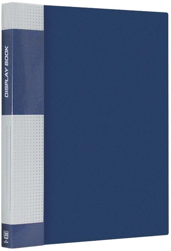 Berlingo Папка Standard с 20 вкладышами цвет синийMT2428Функциональная папка с прозрачными вкладышами. Материал - плотный пластик. Классические офисные цвета. Индивидуальная упаковка в пленку.