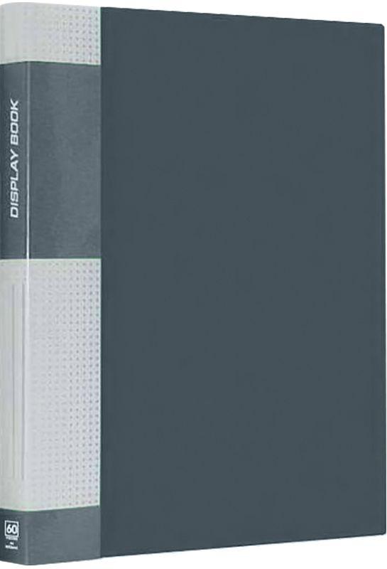 Berlingo Папка Standard с 30 вкладышами цвет серыйMT2432Функциональная папка с прозрачными вкладышами. Материал - плотный пластик. Классические офисные цвета. Индивидуальная упаковка в пленку.