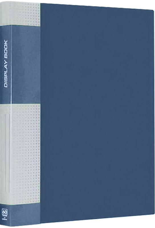 Berlingo Папка Standard с 40 вкладышами цвет синийMT2438Функциональная папка с прозрачными вкладышами. Материал - плотный пластик. Классические офисные цвета. Индивидуальная упаковка в пленку.