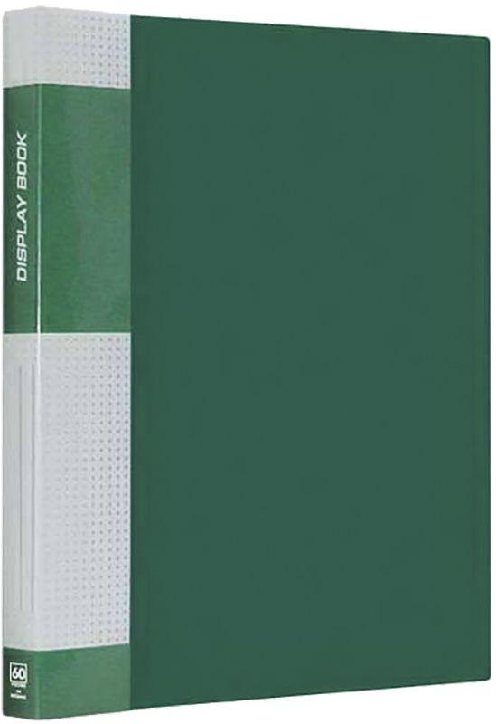 Berlingo Папка Standard с 60 вкладышами цвет зеленыйMT2440Функциональная папка с прозрачными вкладышами. Материал - плотный пластик. Классические офисные цвета. Индивидуальная упаковка в пленку.
