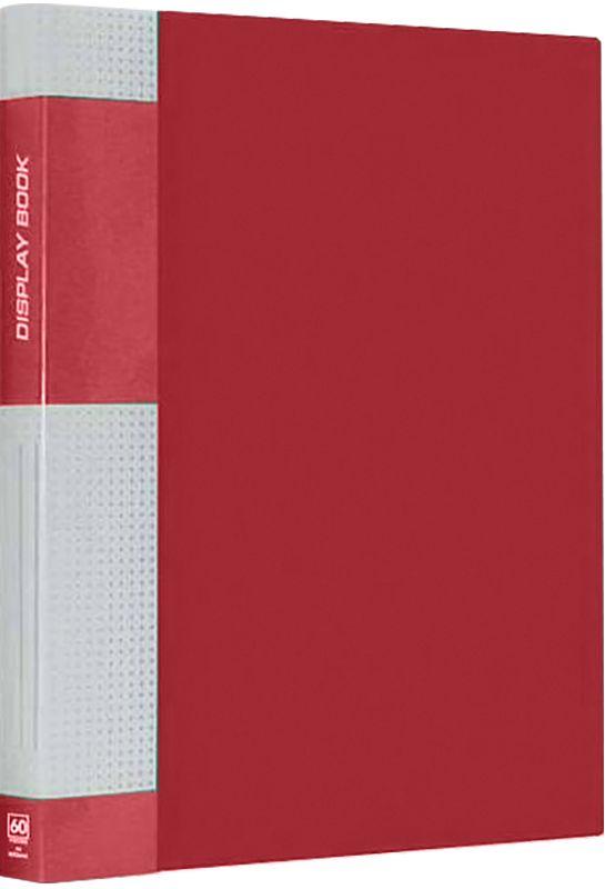 Berlingo Папка Standard с 60 вкладышами цвет красныйMT2441Функциональная папка с прозрачными вкладышами. Материал - плотный пластик. Классические офисные цвета. Индивидуальная упаковка в пленку.