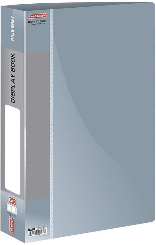 Berlingo Папка Standard с 60 вкладышами цвет серыйMT2442Функциональная папка с прозрачными вкладышами. Материал - плотный пластик. Классические офисные цвета. Индивидуальная упаковка в пленку.