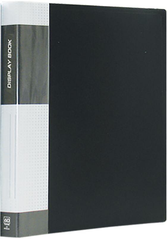 Berlingo Папка Standard с 60 вкладышами цвет черныйMT2444Функциональная папка с прозрачными вкладышами. Материал - плотный пластик. Классические офисные цвета. Индивидуальная упаковка в пленку.