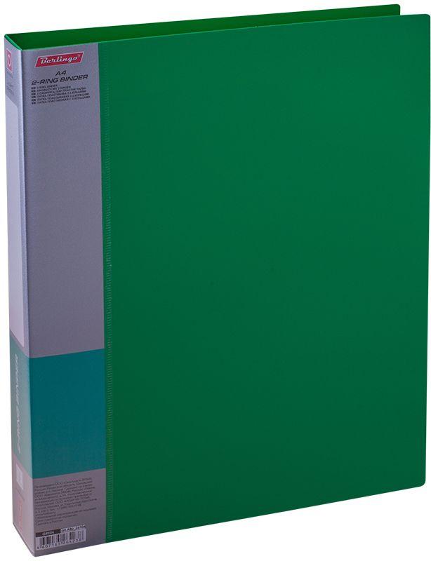 Berlingo Папка на 2-х кольцах Standard цвет зеленый ABp_24104