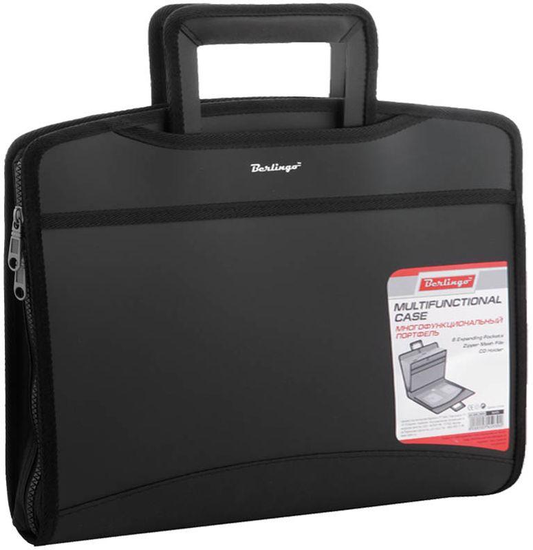 Berlingo Папка-портфель Silk TouchADb_04031Подходит для транспортировки 12-дюймового ноутбука.