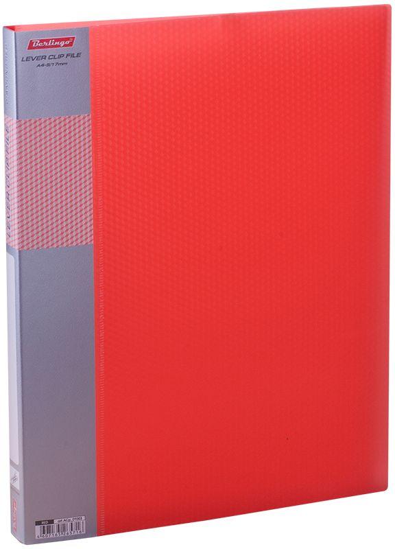 Berlingo Папка с зажимом Diamond цвет красный